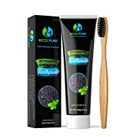 Deals on ECCO PURE Activated Charcoal Teeth Whitening Toothpaste