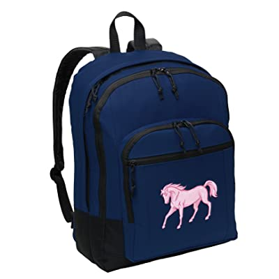 hot sale Classic Horse Backpack Medium Horse Theme Backpack Laptop Sleeve ·  durable modeling CafePress - Football Players Painting - Makeup Pouch a7aecbad7ac74