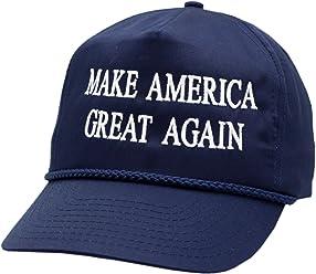 Nissin Cap. Make America Great Again w Braid Navy Snapback-10740 082307d51eb