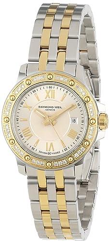 Raymond Weil Women s 5399-SPS-00657 Tango Two-Tone Diamond Bezel Dress Watch