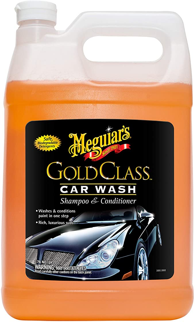 Meguiar's G7101FFP Gold Class Car Wash - 1 gallon