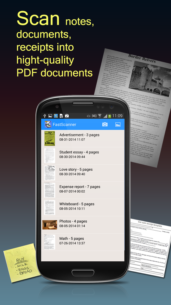 Fast Scanner PDF Document Scan