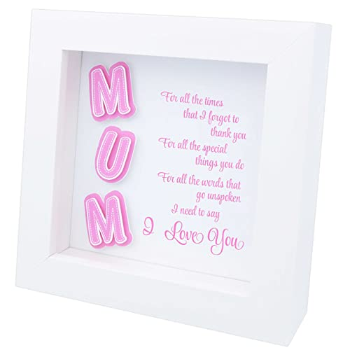 Mum Quotes In A Frame Personalised Mum Gift Mummy Gift Choice Of 7