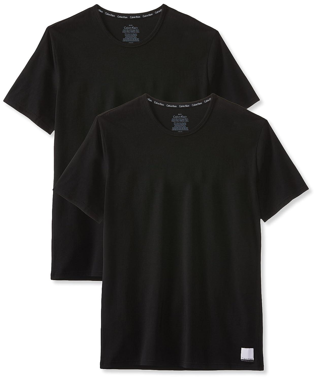 TALLA M. Calvin Klein Camiseta (Pack de 2 para Hombre