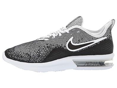 Nike WMNS Air Max Sequent 4 Womens Ao4486 001 Size 8 BlackBlack White