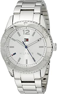 16b20629 Tommy Hilfiger Women's 1781267 Casual Sport Stainless Steel Watch