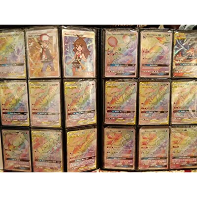 100+ Official Pokemon Cards Binder Collection Booster Box with 10 Foils in Any Combination and at Least 1 Rarity, GX, EX, FA, Tag Team, Or Secret Rare, with Cards Like Charizard and Detective Pikachu: Toys & Games