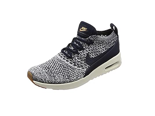 half off 86a61 25d5e Nike Air MAX Thea Ultra Flyknit, Zapatillas para Mujer, Negro (Black Dark