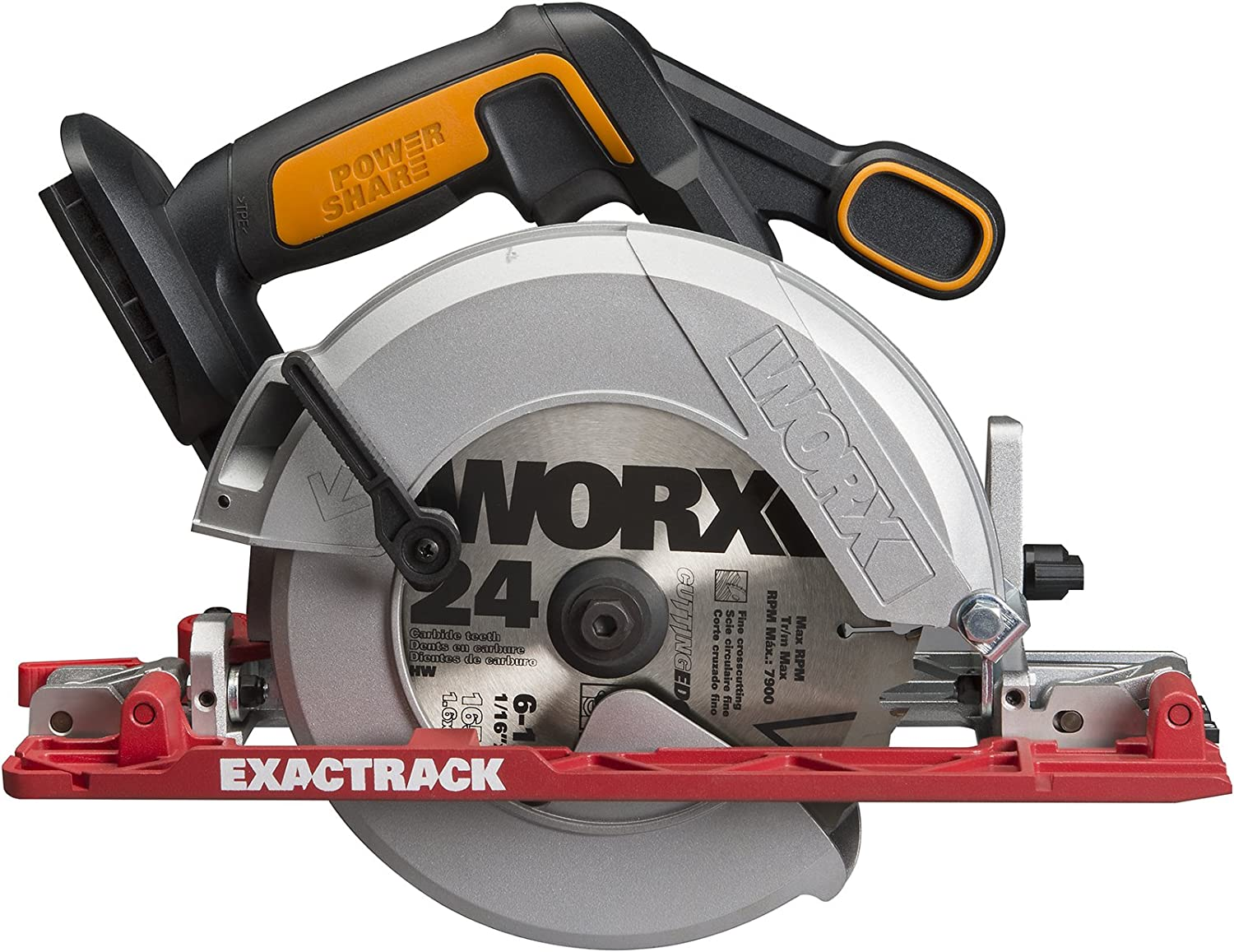 WORX WX530L.9 20V 6-1 2 Circular Saw Bare Tool Only
