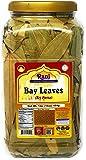 Rani Bay Whole Leaf (Leaves) Spice Hand Selected Extra Large 16oz (454g) 1lb Pet JAR Bulk Pack All Natural ~ Gluten Friendly | NON-GMO | Vegan | Indian Origin (Tej Patta)