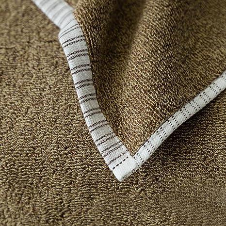 Espesamiento agua sólido hotel toallas algodón toallas grandes