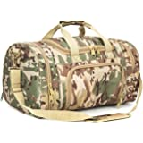 RXARMY Tactical Duffle Bag Gym Travel Hiking & Trekking Sports Bag with Shoes Compartment