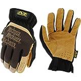 Mechanix Wear: DuraHide FastFit Leather Work Gloves ,Medium, Brown/Black-#1
