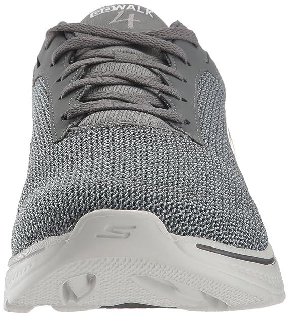 Zapatillas para caminar sobrepuestas Glide-Surpass Performance para hombre, azul marino / gris, 10.5 M US