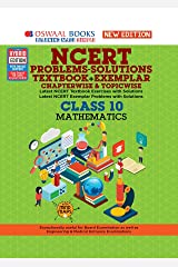 Oswaal NCERT Problems - Solutions (Textbook + Exemplar) Class 10 Mathematics Book (For 2021 Exam) Kindle Edition
