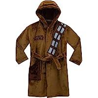 Slumber Hut/® Gar/çons Robe de Chambre Polaire Chaud pour Les Enfants V/êtement de Nuit Bleu Marin ou Gris Taille 7 /à 13 Ans