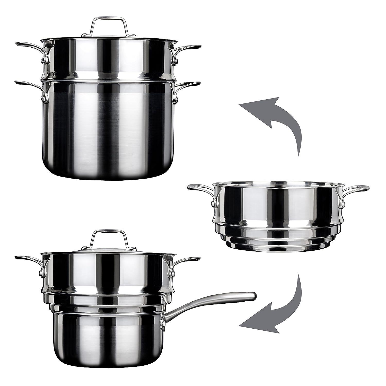 Amazon.com: Duxtop - Cocina de inducción (acero inoxidable ...