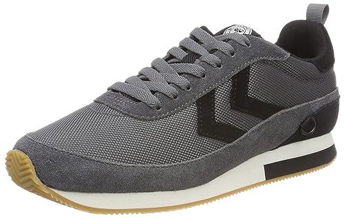 hummel Eldorado Trainer Nylon, Zapatillas Unisex Adulto, Gris (Castle Rock), 39 EU: Amazon.es: Zapatos y complementos