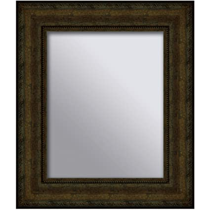 Creative Co-op DE7399 Divided Rectangle Mirror with Distressed Gold ...
