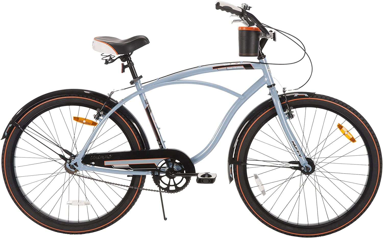 mens beach cruiser type bicycle