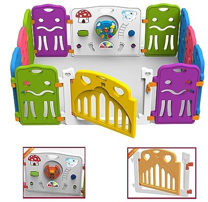 Star Ibaby Play Castle XL - Parque de juegos: Amazon.es: Bebé