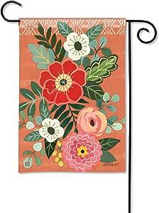 BreezeArt Studio M Terra Flora Decorative Garden Flag – Premium Quality, 12.5 x 18 Inches