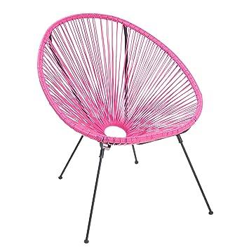 Fantastisch Riess Ambiente Moderner Acapulco Sessel Pink Gartenstuhl Wetterfest  Outdoorstuhl Relaxsessel Stuhl