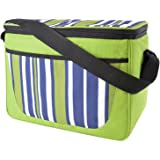 OCTAVE® Large Family Sized Insulated Cool Bag - Striped Print [Size One Size, Colour Green Striped]