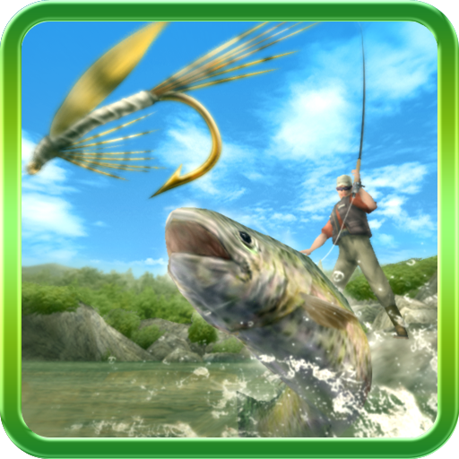 Fly Fishing 3D (Fly Boat Fishing)