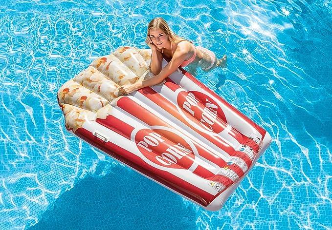 Intex 58762 70 X 33.5 Inflatable Orange Slice Pool Mat Lounger