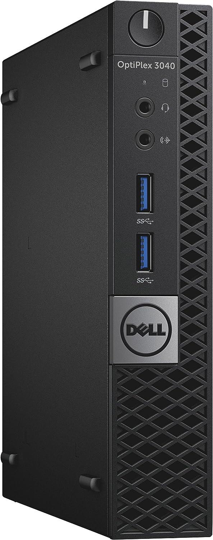 Dell RK3WG OptiPlex 3040 MFF Micro Desktop (Intel Core i5-6500T, 8GB 1600MHz DDR3 RAM, 500G HDD, Windows 10 Pro, Black)