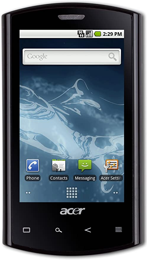 Acer XP.H5AEN.011 - Smartphone libre Android color negro: Amazon ...