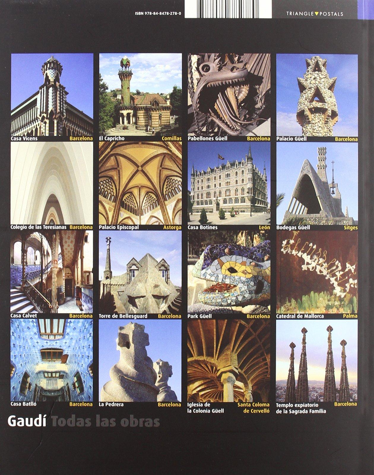 Gaudí : Todas las obras: Joan Bassegoda i Nonell, Pere Vivas, Ricardo Pla: 9788484782780: Amazon.com: Books
