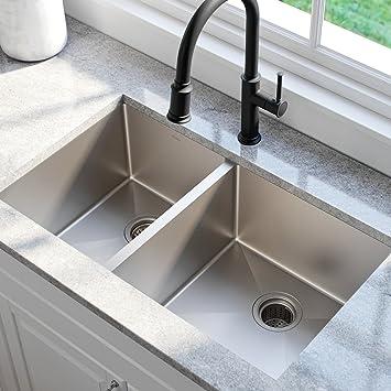 33 in undermount sink