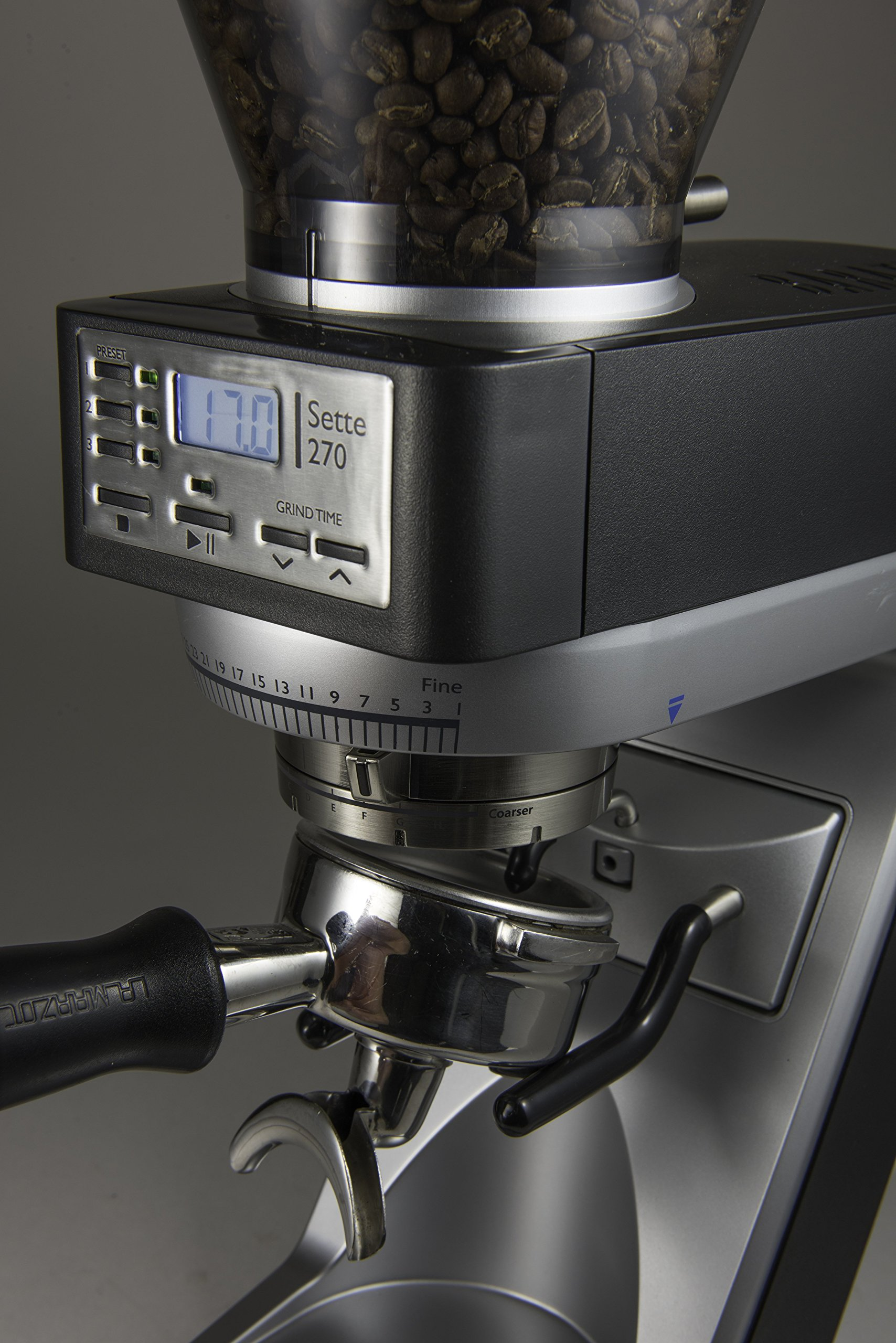 Baratza Sette 270 - Conical Burr (with Grounds Bin and built-in PortaHolder) by Baratza (Image #5)