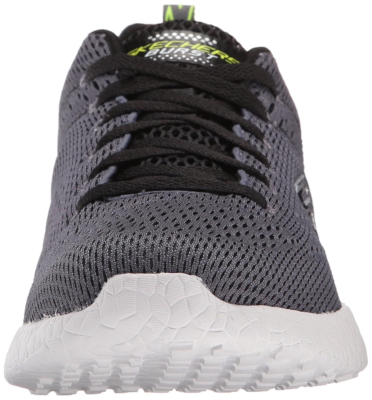 Skechers Men's Burst-Second Wind Low-Top Sneakers, Grey: Amazon.co.uk: Shoes  & Bags