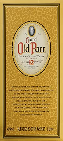 Grand Old Parr Scotch Whisky - 1000 ml