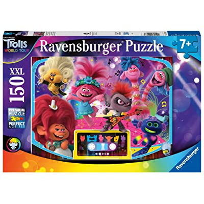 Ravensburger 12913 Trolls 2 World Tour XXL 150pc Jigsaw Puzzle: Toys & Games