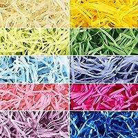 10 Colores 300g Hierba de Pascua Relleno