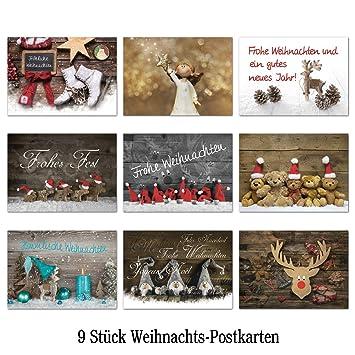 Sonder-Angebot 2018: Set mit 9 Stück verschiedene Weihnachts ...