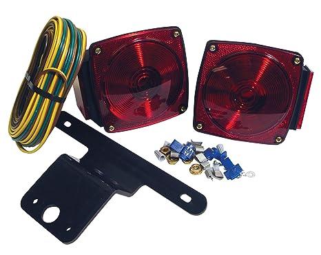 attwood 14060-7 Submersible Multi-Function LED Trailer Light Kit on