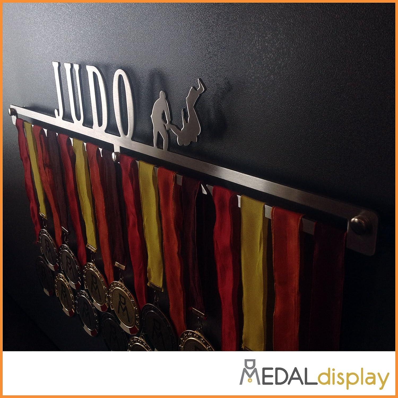 Judo//Porte-m/édailles//Judo Medagliere mural MEDALdisplay Medal Hanger Judo