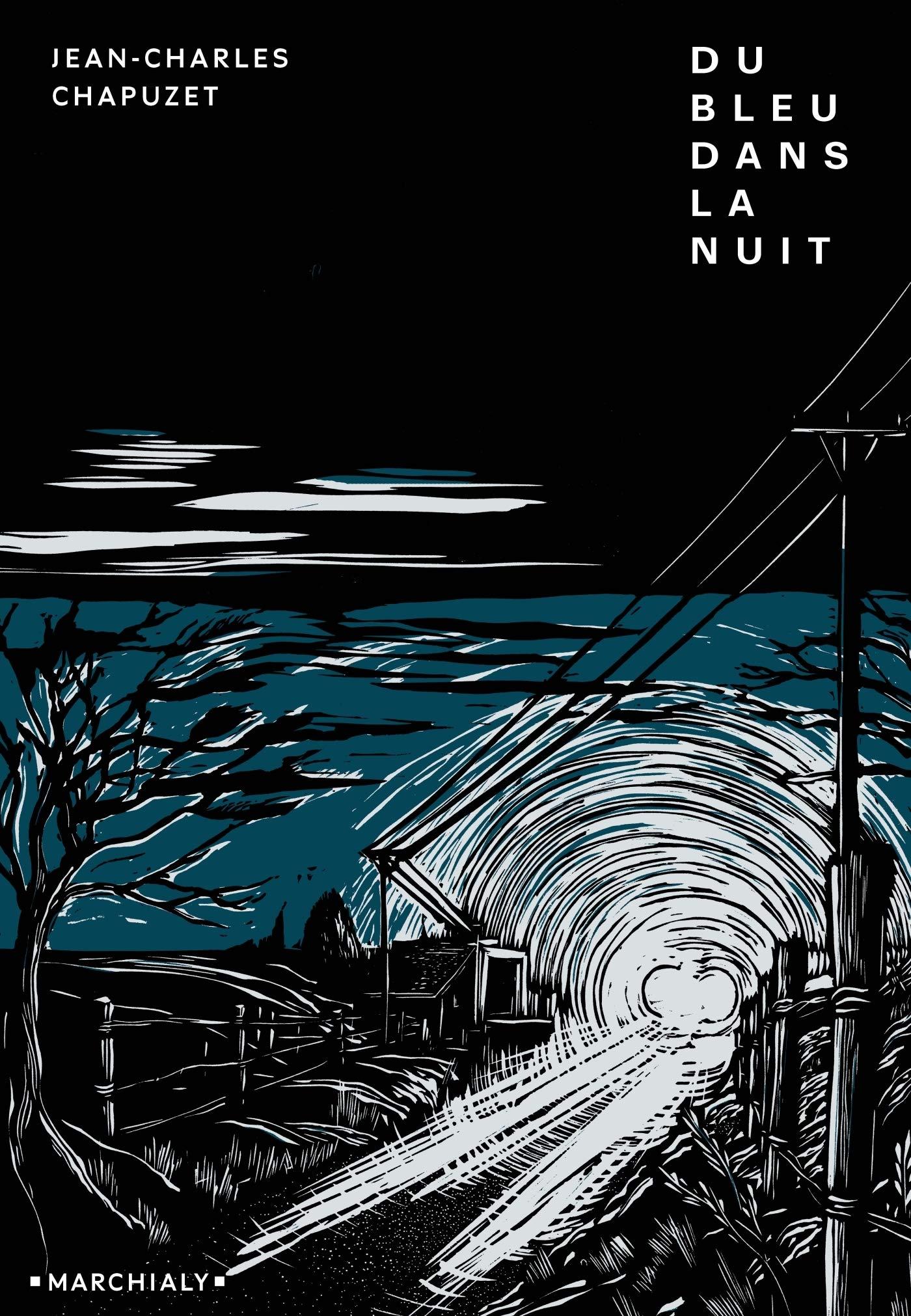 Du bleu dans la nuit - Jean-Charles Chapuzet 81bIbyptj7L