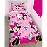 Minnie Mouse Style Simple Housse De Couette Et Taie D?Oreiller Set