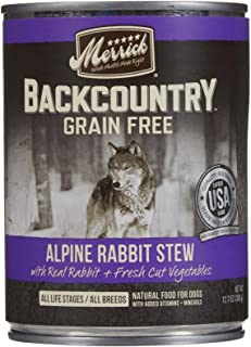 product image for Merrick Backcountry - Alpine Rabbit Stew - 12.7 Oz - 12 Ct