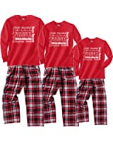 Merry Christmas Family Pajamas Around The World Languages Holiday PJS