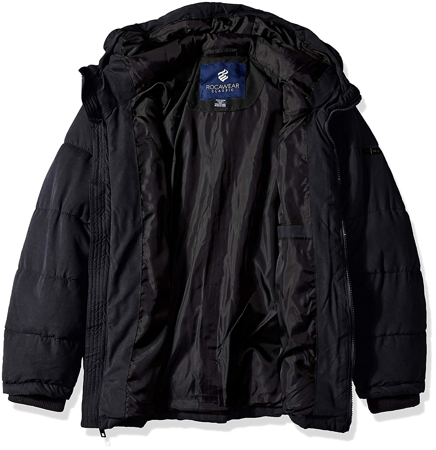 Rocawear Boys Hooded Bubble Jacket