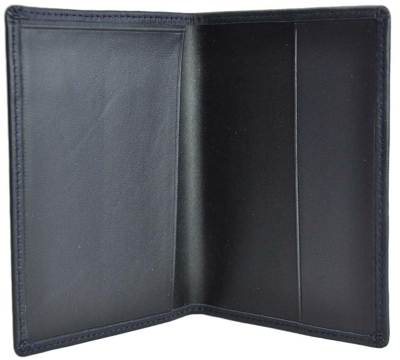 9ef45a43bbf1 Royce Leather RFID Blocking Passport Jacket (One Size, Blue)