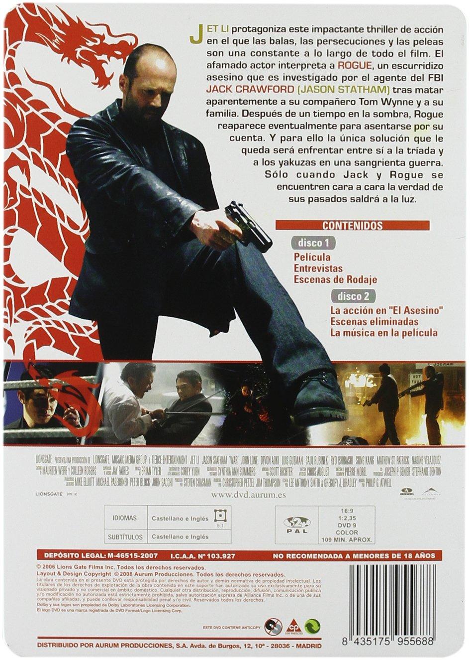 Amazon.com: El Asesino (Caja Metalica) (Import Movie) (European Format - Zone 2) (2008) Varios: Movies & TV