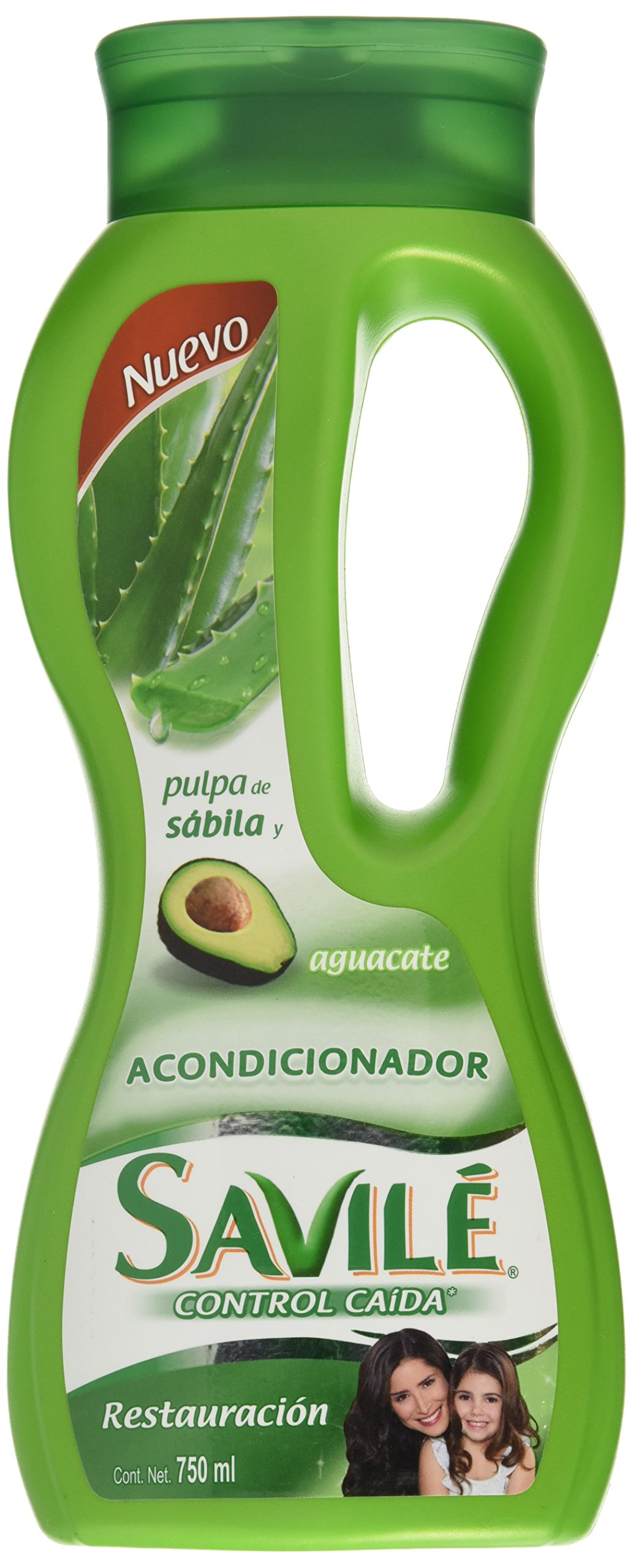 Amazon.com: Savile Conditioner with Aloe Pulp and Avocado/ Acondicionador Con Pulpa De Sabila Y Aguacate Para Restauracion: Beauty